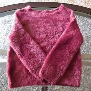 Size small soft material sweater